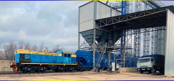 В Украине увеличились перевозки зерна железной дорогой